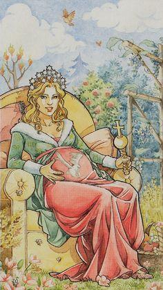 The Empress - Lo Scarabeo Tarot