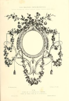 Vintage Ephemera: decorative and ornamental