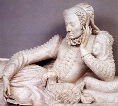 Tomb of Valentine Balbiani, Germain Pilon, 1583.  Musée du Louvre , Paris, Ile-de-France, France.