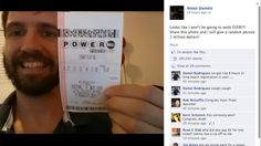 """today's fake powerball thing! cc @Annie Lumerman // """"We've reached out to Daniels to see why he isn't volunteering for charity or learning a second language since he apparently has too much time on his hands."""""""