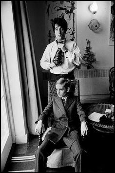 Twiggy & Justin de Villeneuve, 1966