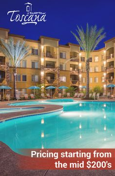 With pricing starting from the mid $200's, owning a #Phoenix home is easy! Contact us to schedule a tour of our luxury #condominiums.