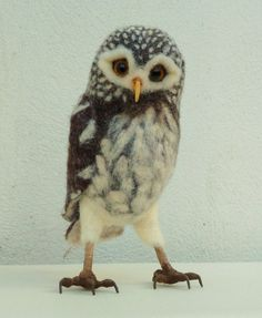 little owl by pipspatterns on Etsy, $155.00