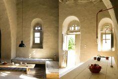 Location maison de Loutra. Accueille quatre dans une ambiance des Cyclades et la tranquillité!