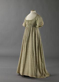 Kjole. Norge. 1800-1810