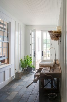 farmhouse-entry-home-country-cottage-white-wash-paneling-renovation-cottage-england-english-entrance-hallway-ideas-shop-room-ideas-grey-gray-outdoor-tiles-granite-stone-.jpg 654×990 pixels