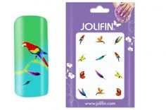 Jungle Tattoos: Jolifin Jungle Tattoo Nr. 10 bei German Dream Nails