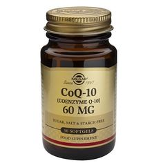 Coenzima CoQ-10 60mg en aceite 30 cápsulas blandas – Herbolario Oriente