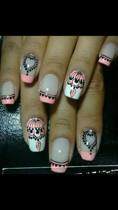 Cute Nails, Pretty Nails, My Nails, Pedicure Designs, Cute Nail Designs, French Tip Nails, Pastel Nails, Stamping Plates, Gorgeous Nails
