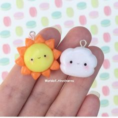 Polymer Clay Figures, Polymer Clay Miniatures, Polymer Clay Projects, Polymer Clay Creations, Diy Clay, Fimo Kawaii, Polymer Clay Kawaii, Polymer Clay Charms, Polymer Clay Jewelry