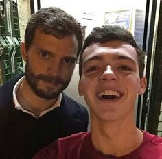 Jamie & fan in Belfast
