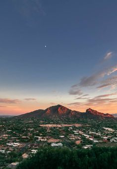 The iconic Camelback Mountain in Phoenix (do you see the camel's back?)