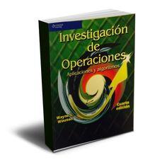 Investigación de operaciones – Wayne Winston – PDF  #investigacion #operaciones #logistica  http://librosayuda.info/2015/12/21/investigacion-de-operaciones-wayne-winston-pdf/