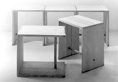 """Max Bill, Hans Gugelot, Paul Hildinger, """"Ulm stool"""", 1955 - lagosdelmundo"""