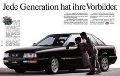 https://flic.kr/p/no5ewi   Audi  90 (1990) B3 2.3 Liter 20V Quattro 167 PS - Vorbild einer Generation   Jede Generation hat ihre Vorbilder.  Für die ungestüme Jugend sind es noch allein PS. Doch mit den Jahren wächst die Erfahrung, und man erkennt, daß Kraft allein nicht weiterbringt. Intelligente Technik ist gefragt, und der Audi 90 quattro 20V ist eine gute Antwort. Nicht nur weil er über die Kraft von 123 kW (167 PS) durch 4-Ventil-Technik verfügt. Sondern weil er diese sportliche…