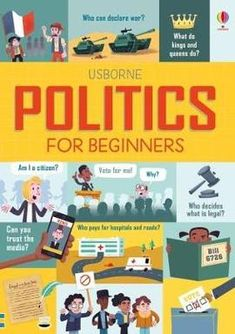 Politics+for+Beginners:+Kellan+Stover+Book+in+Hardback.+Book+People