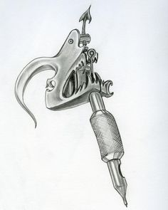 tattoo machine drawing - Google-søk