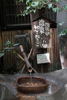 Onsen Tamago (Hot Spring Eggs) at Kurokawa Hot Spring village Kumamoto Japan via flickr