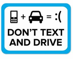 Safety, safety,  safety.  #independent #auto #empowerment #texting #driversed #drive