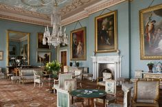 The Drawing Room at Attingham Park, Shropshire. © National Trust Images/Andreas von Einsiedel. www.nationaltrust.org.uk