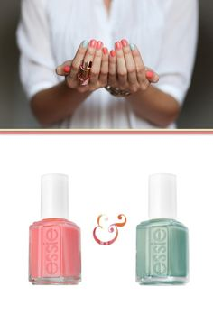 Mint to be with coral