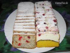 Pestrofarebný chlebíček a chlebíček Úsvit - Recept Dairy, Cheese, Cake, Food, Pie, Kuchen, Cakes, Torte, Cookies