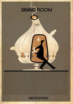Gallery - Federico Babina Dissects the House in MICROARCHITECTURES Series - 14
