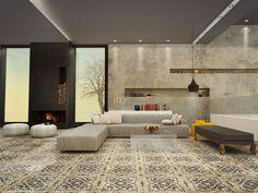 Minimalist Modern space on Behance