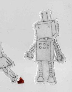 girl <3 robot