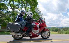 Brian Pitman: Yamaha GTS 1000 - Man and Machine - Cycle Canada