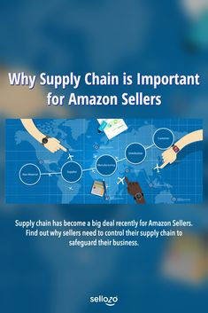 Supply chain has become a big deal recently for Amazon Sellers. Find out why sellers need to control their supply chain to safeguard their business Amazon Fba, Sell On Amazon, Amazon Seller, Supply Chain, How To Become, Big, Business, Things To Sell, Store
