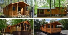 Park Model Log Cabin just $21,950 Click to View Floor Plans and Photo Gallery