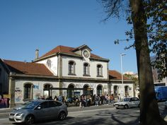 Estação  de comboio da Av. de França(antes que desapareça)