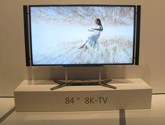 8K-Fernseher - Sharp setzt den Maßstab weiter nach oben