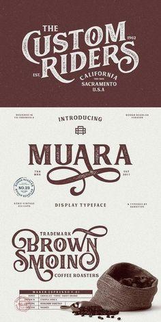 fonts font ideas font inspiration font typography font typo x logo Graphic Design Fonts, Typography Design, Branding Design, Brand Identity Design, Design Packaging, Corporate Branding, Font Logo Design, Vector Design, Vintage Typography