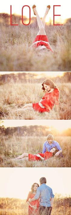 A Miracle of Love – Outdoor Maternity Session from Emm & Clau