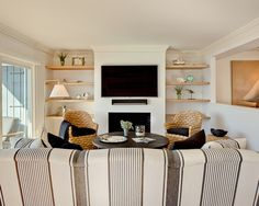 family room   Bowley Builders