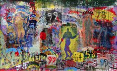 Urban Dweller | by Jon Hamblin #JonHamblin #Acrylic #CedarStreetGalleries