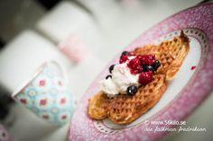 Våfflor LCHF #lowcarb #waffles