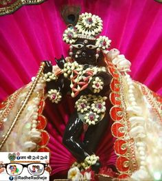 Jai Shree Krishna, Radha Krishna Photo, Krishna Photos, Krishna Images, Krishna Krishna, Deities, Rama Sita, Sri Rama, Laddu Gopal