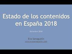 """Vídeo resumen """"Estado de los contenidos en España 2018"""" Videos, Annual Reports, Summary"""