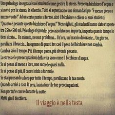 Le preoccupaazioni .... Helen Keller, True Words, Im In Love, Thankful, Thoughts, Humor, Motivation, Quotes, Machine Head