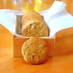 Orange Pecan Icebox Cookies
