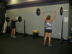 Why CrossFit?   Alexis, on the left, is 16. I am 48.   We are fitter than our peers.    Taken at CrossFit Magna, Scottsdale.