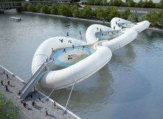 Trampoline bridge is a disaster that really needs to happen