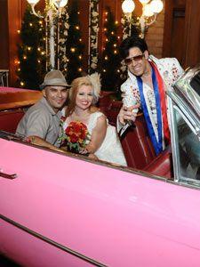 elvis drive thru wedding