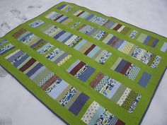 another chinese coin quilt. i think i want more border around the edges