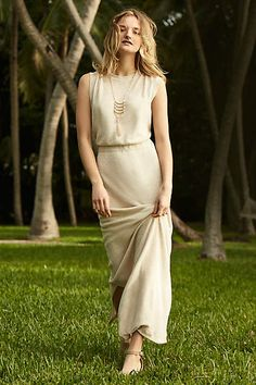 Villette Maxi Dress - anthropologie.com