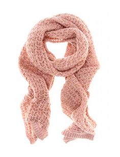 Missoni Chunky Knit Scarf..love this soft pink hue.