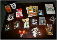 Conference baggies:Tape pictures of the General Authorities onto baggies filled with treats and activities. When a new speaker comes to the pulpit have your child find the baggie to match the current speaker. That said baggie is the treat/activity they get to have during that talk.